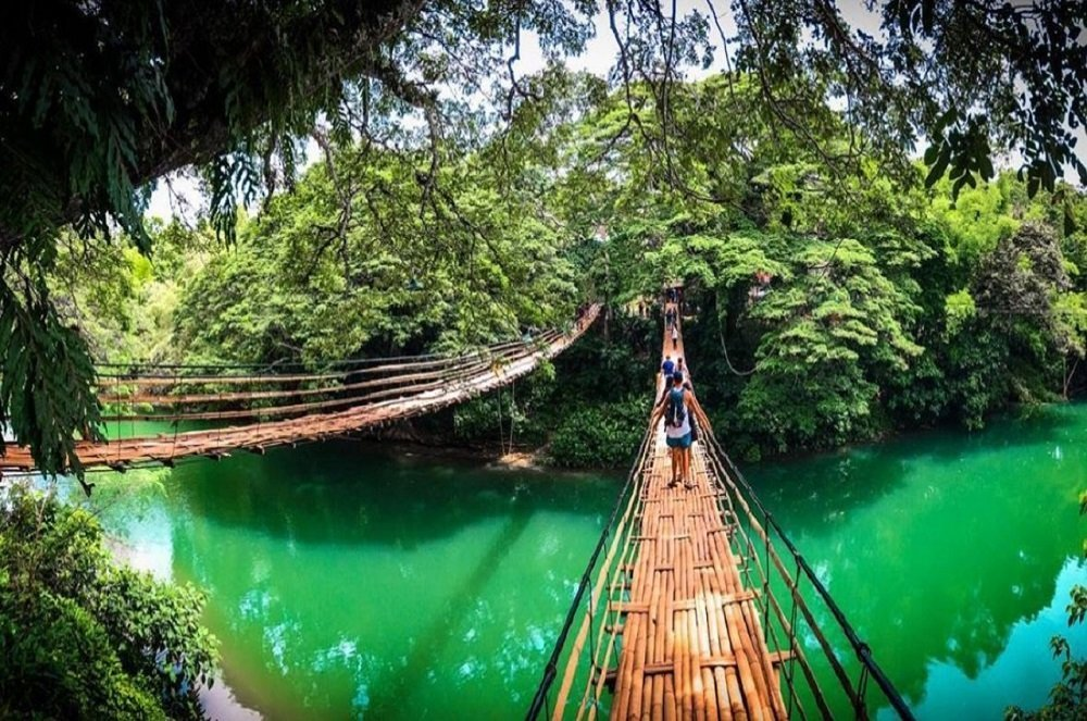 Sipatan Twin Hanging Bridge