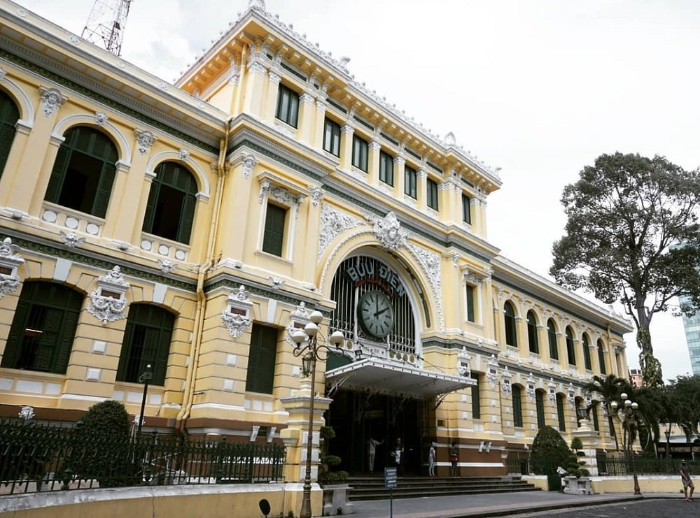 The saigon central post office
